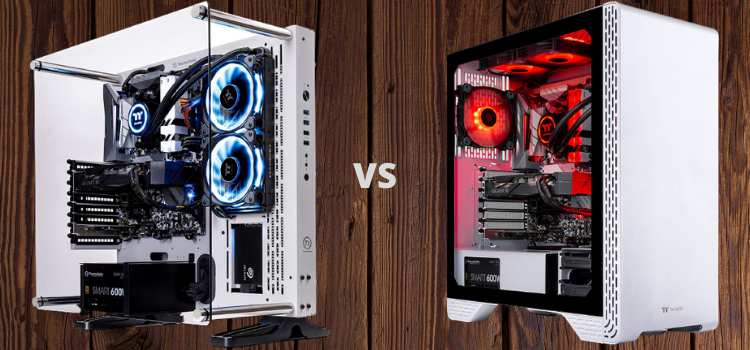 Thermaltake LCGS Glacier 300 & Arctic III Gaming PC Review 2021